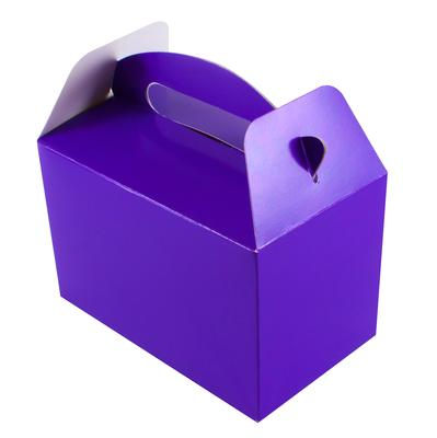 Oaktree Party Box 100mm x 154mm x 92mm 6pcs Purple No.36 - Accessories
